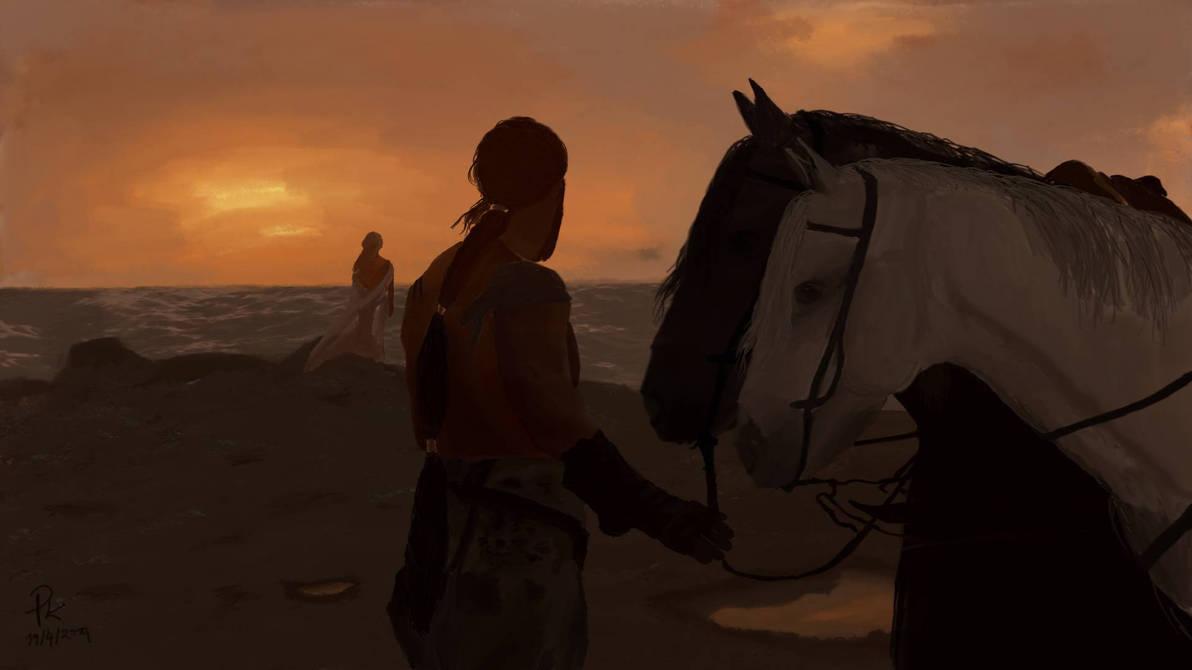 First night. Daenerys and Drogo by pkubicek