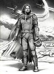 Garyn Fett, Mandalorian Jedi by FalconFan