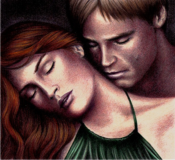 'A Sweet Romance' Luke-Mara by FalconFan