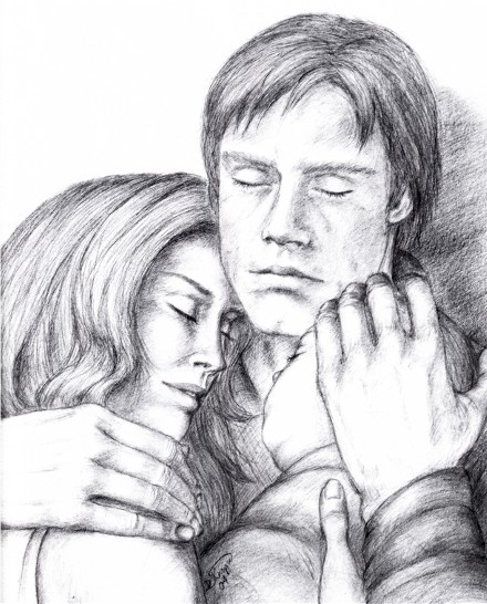 Mara, Luke and Ben Skywalker by FalconFan
