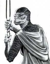 Jedi Master Saba Sebatyne by FalconFan