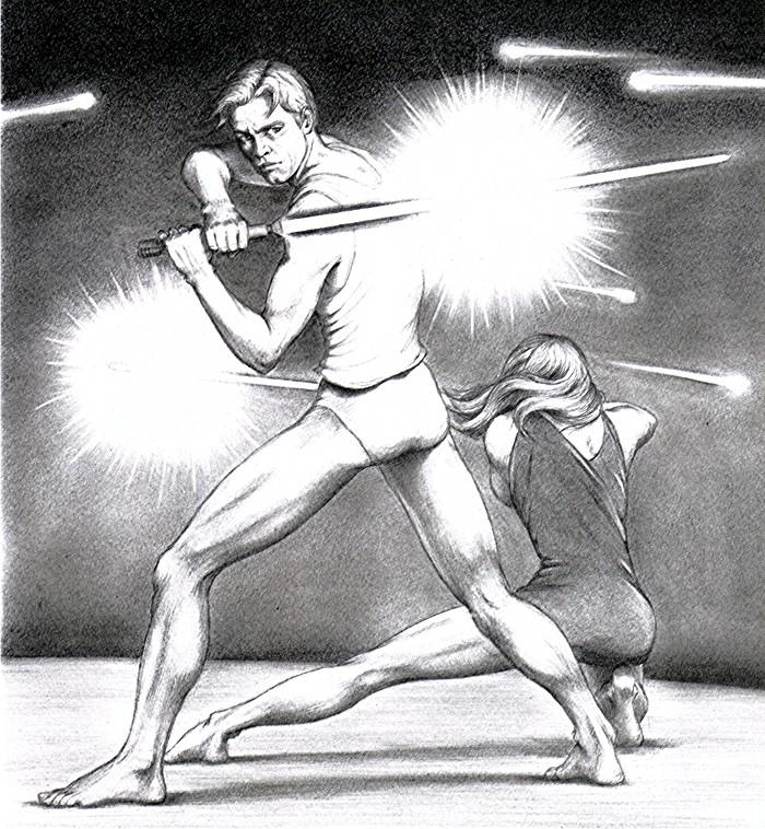 'Skivvies Skirmish' by FalconFan