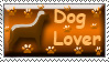 Dog Lover Stamp by Sparkyard