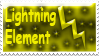 Lightning Stamp by Sparkyard