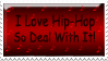 Hip-Hop Stamp by Sparkyard