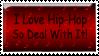 Hip-Hop Stamp by Sparkyard