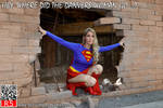 Supergirl breaks out