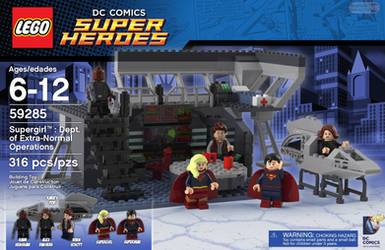 Fighting bad guys, one brick at a time by 5red