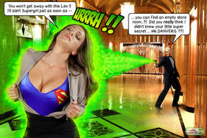 Lex Luthor's kryptonite ray by 5red