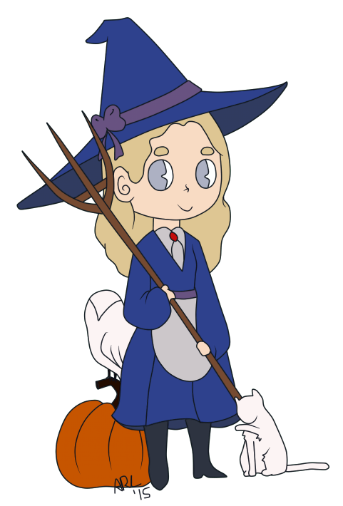 Adelaide the Witch by Haphazard-Witch