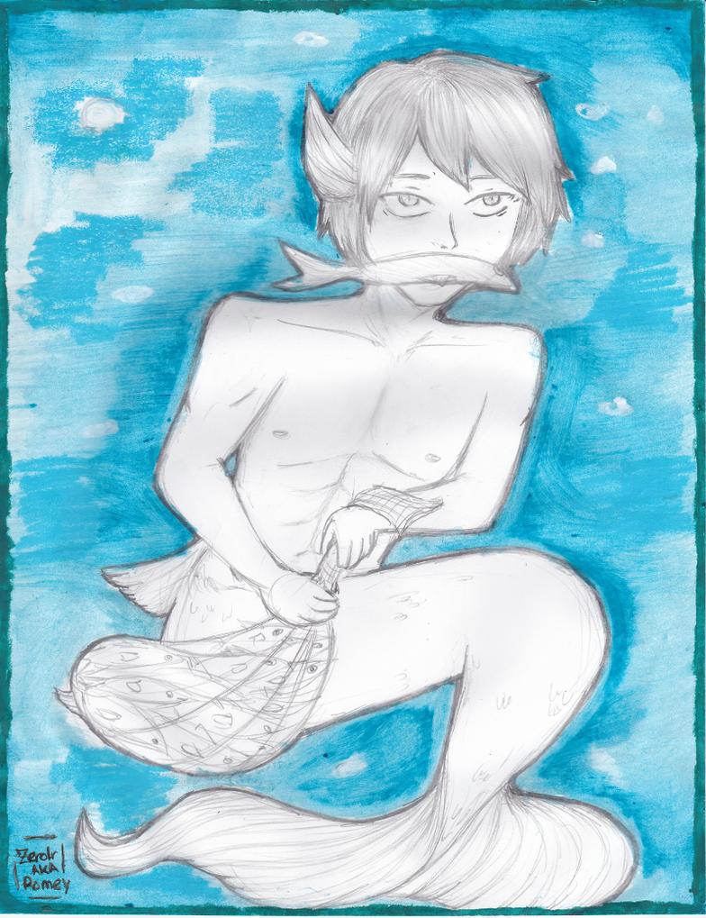Haruka catching dat mackerel by Zerolr-RM