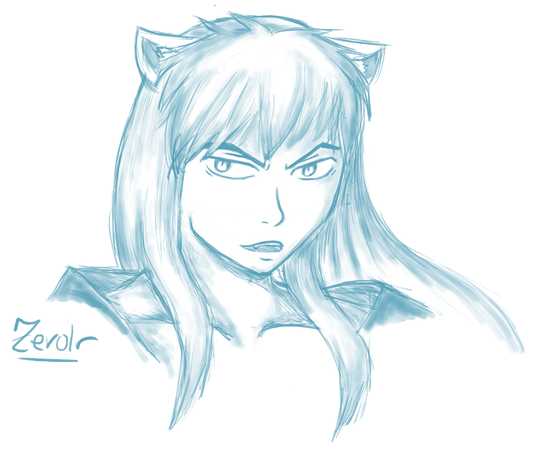 Sketchy thing of InuYasha by Zerolr-RM