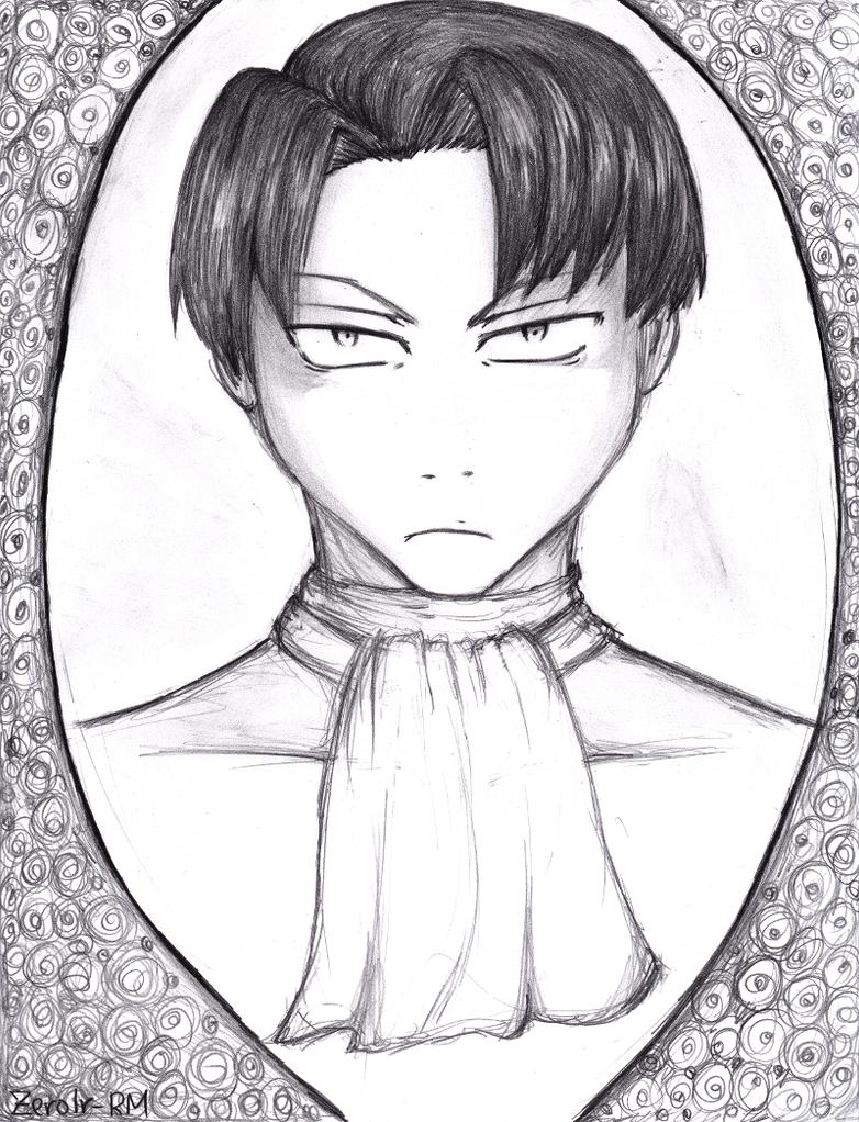 Levi portrait by Zerolr-RM