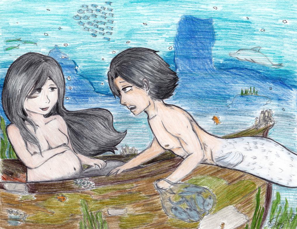 Merren!AU Illustration by Zerolr-RM