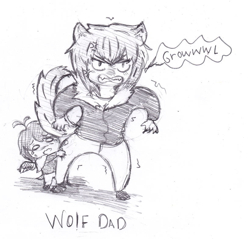 Wolf Dad by Zerolr-RM