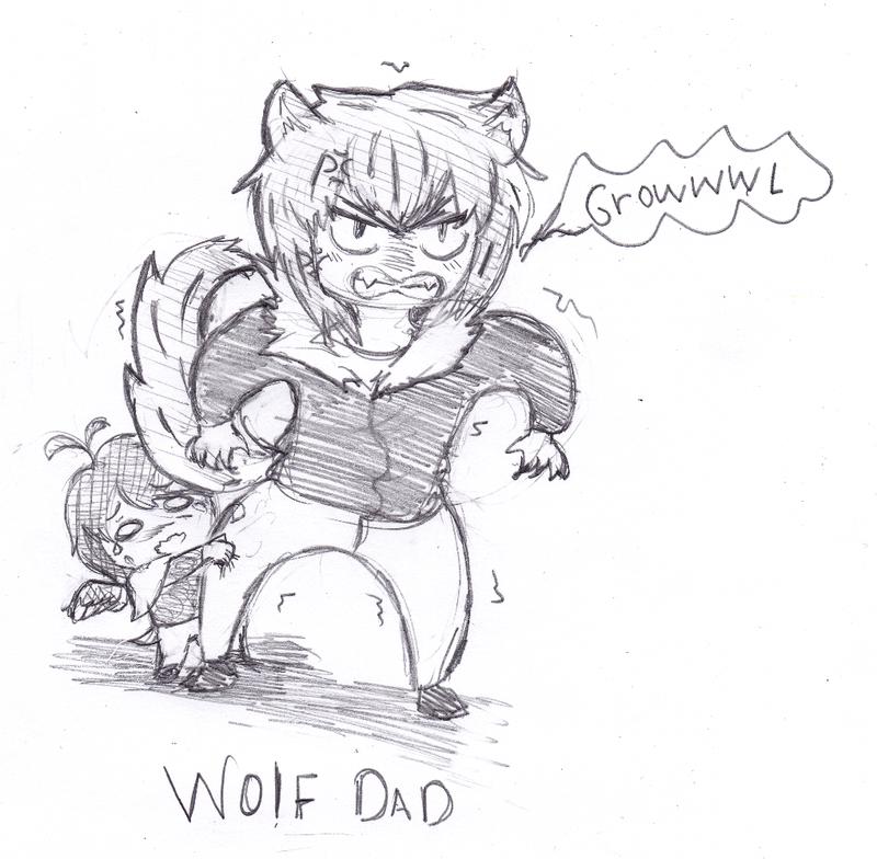 Wolf Dad by Zerolr-RM