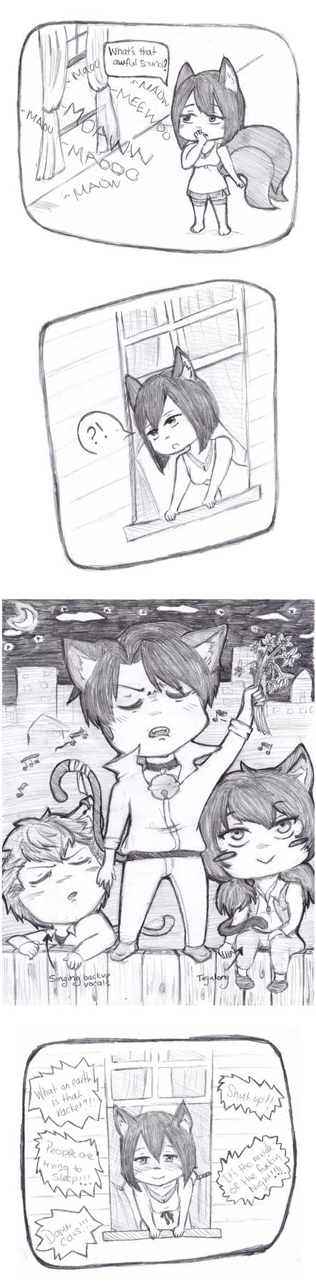 Kitty/Kitsune AU: Serenade by Zerolr-RM
