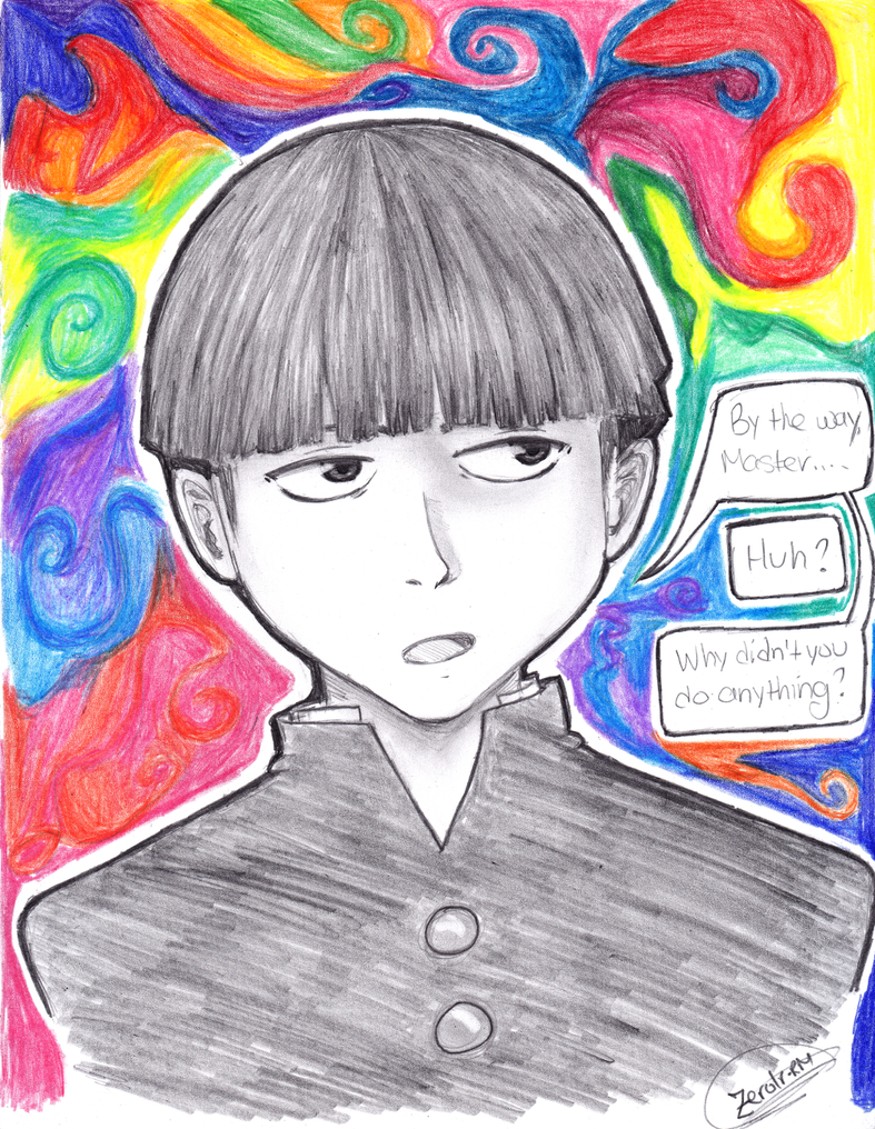 Mob Psycho is pretty cool! by Zerolr-RM