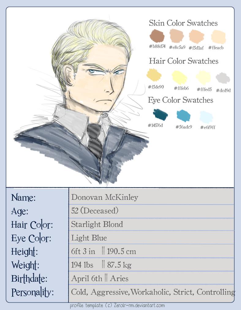 Profiles: Donovan McKinley by Zerolr-RM