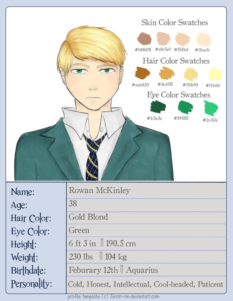 Profiles: Rowan McKinley by Zerolr-RM