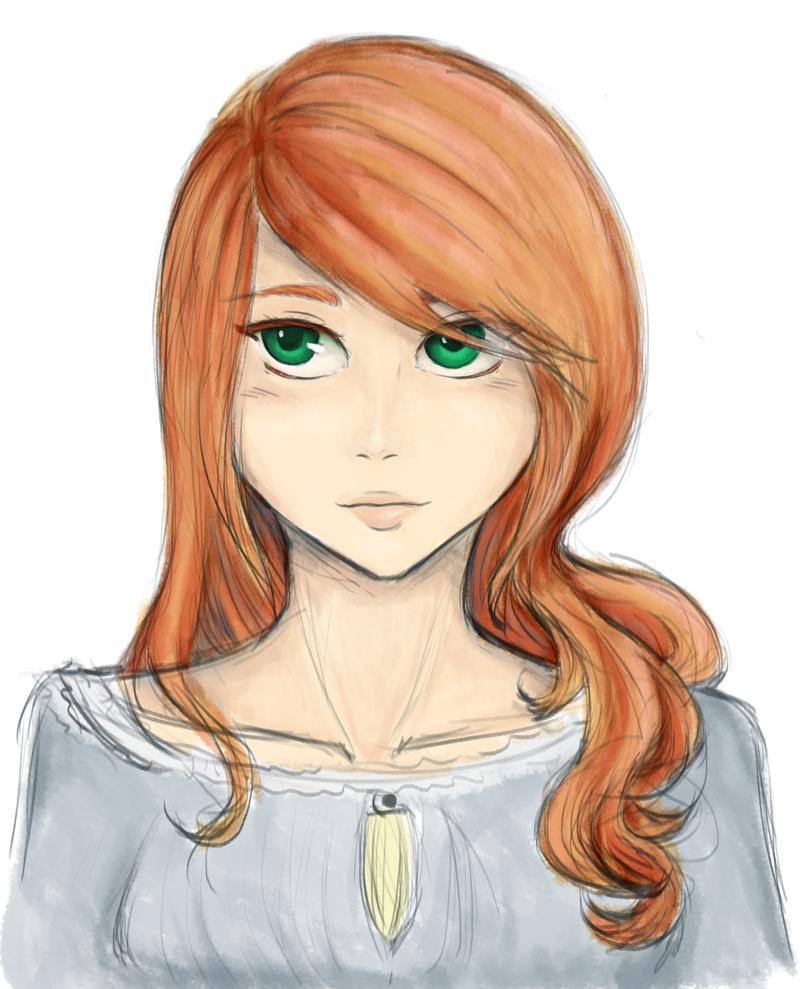 Aurelia sketch by Zerolr-RM