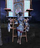 Lady Silverhair Calls by lesgraham