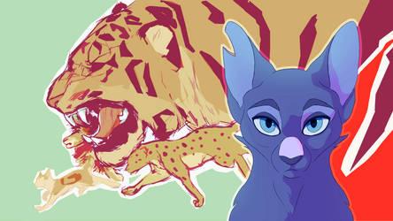 SSS Warrior Cats Frame Redraw by Zuremist