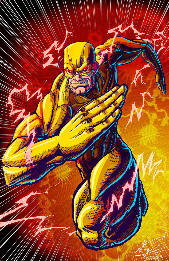 Reverse Flash By Magna Omega