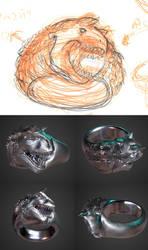 Carnotaurus Ring