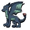 Free blue dragon icon by b24beanz
