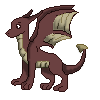 Free red dragon icon by b24beanz