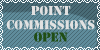 Point Commissions Open Stamp Free for use! by b24beanz