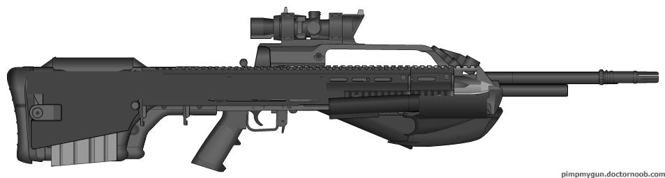 BR55HB SR - Pimp My Gun by Silent-Valiance
