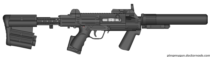 M7S SMG - Pimp My Gun by Silent-Valiance