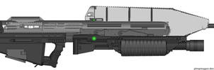 MA5C OICW - Pimp My Gun by Silent-Valiance