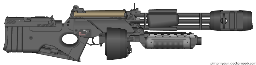 M28GG-7 SHMG - Pimp My Gun by Silent-Valiance