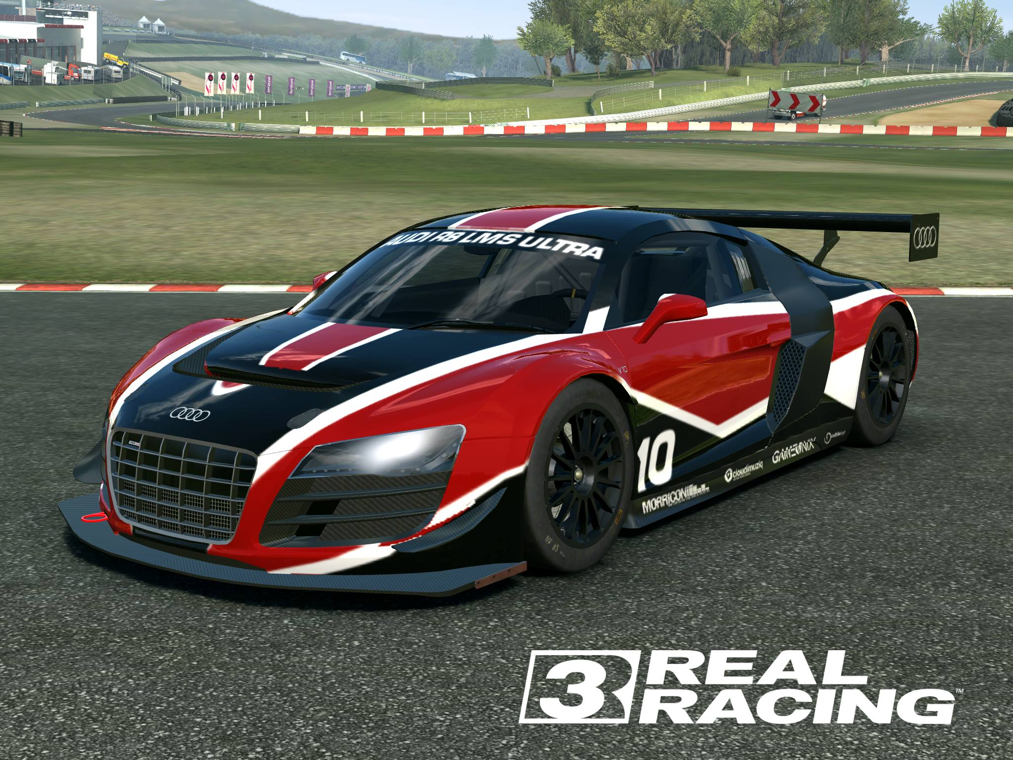 Audi 10 r8 lms ultra real racing 3 by silent valiance