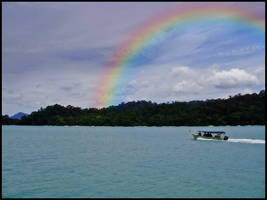Passing by the Rainbow