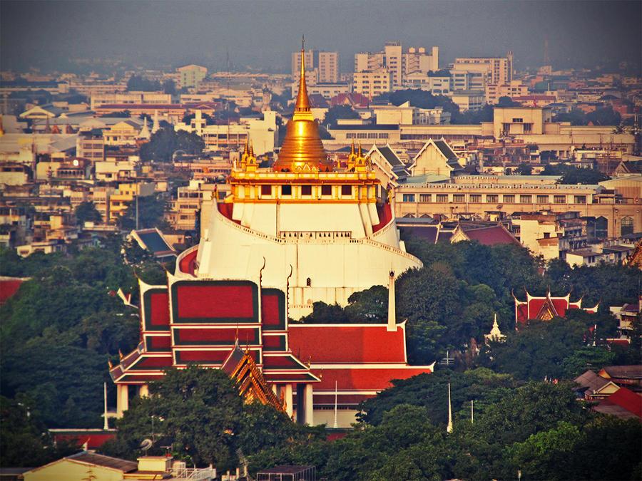Wat Saket by sirithlainion on DeviantArt
