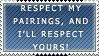 Respect my paiiiirings by lulubellct