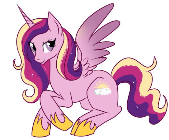 Princess Cadence by lulubellct