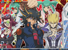 yugioh 5ds desktop by WeFallLikeAngels19