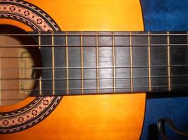 My guitar by xratherbedeadx