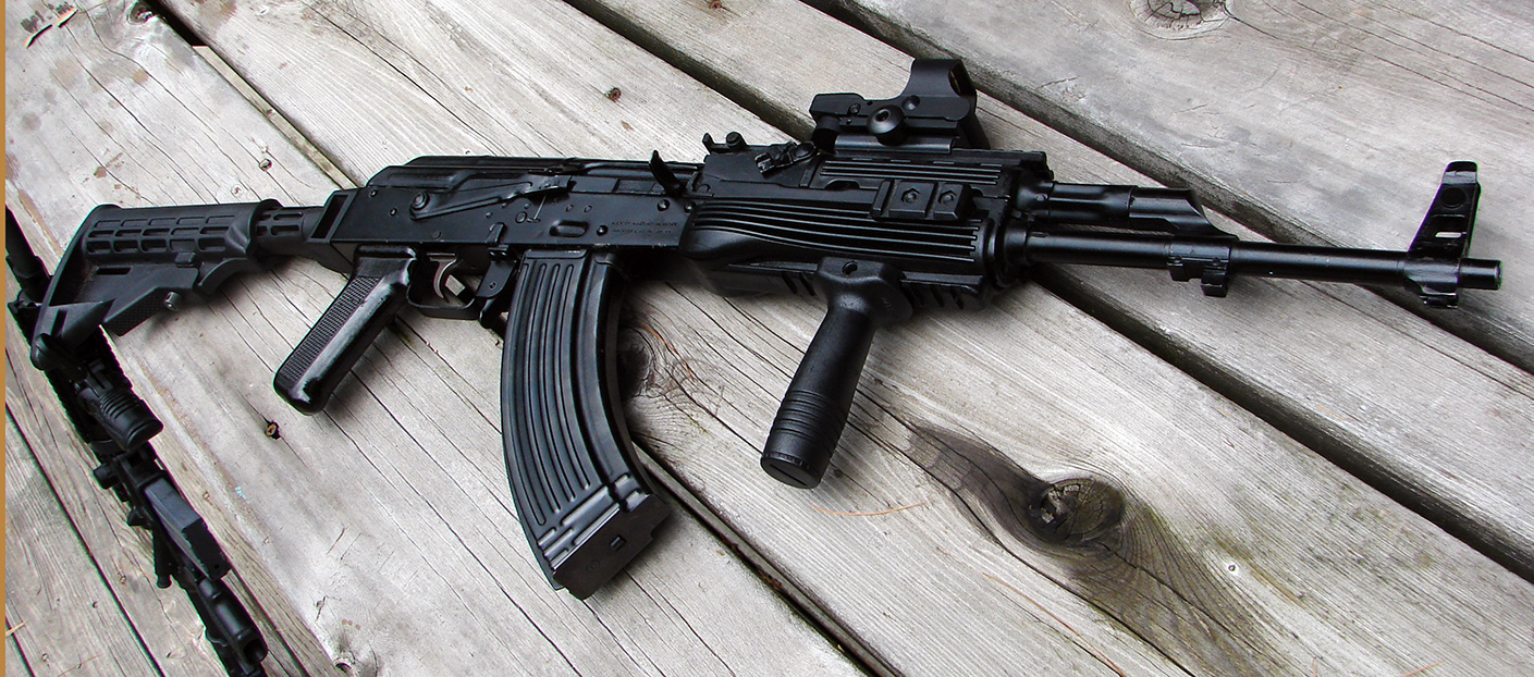 Name a gun from a game that would be cool to see in FNV - Page 5 Tactical_AKM_by_CorsairSX