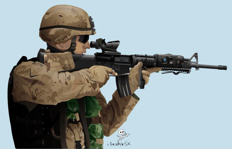 US Marine by CorsairSX