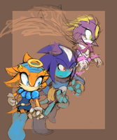25 Years Later - Team Legacy (WIP) by Cylent-Nite