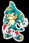 Sonic Legacy - Ordo the Salamander (Chaos Zero)