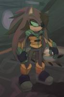 Sonic Origins - Olgilvie Parlouzer by Cylent-Nite