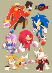 [EARTH-4] Sonic Adventure 2 ~Added Description~