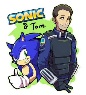 Sonic and Tom - [SONIC the HEDGEHOG: The Movie]